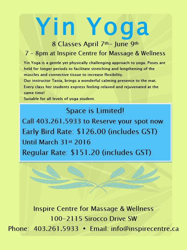 Yin Yoga Classes