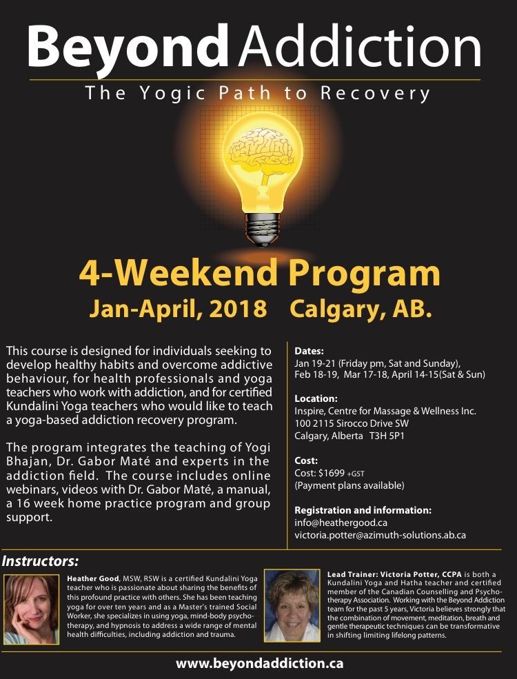 Beyond Addiction Workshop